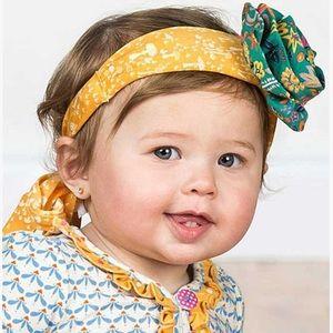 Matilda Jane Autumn Rose NWT headband yellow green